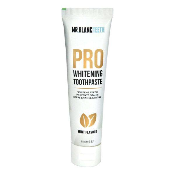 Whitening pro toothpaste