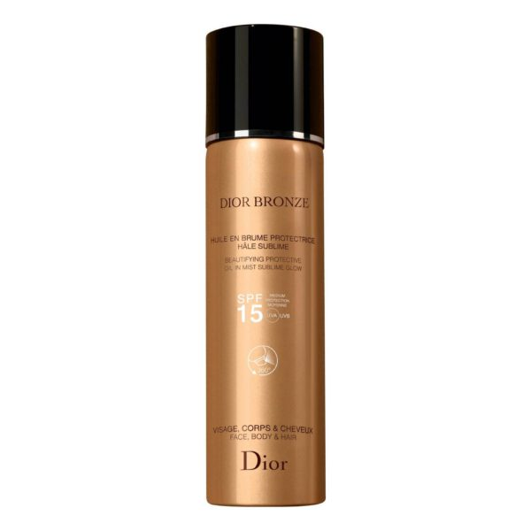 DIOR BRONZE OIL IN SUBLIME TAN PROTECTIVE MIST SPF15