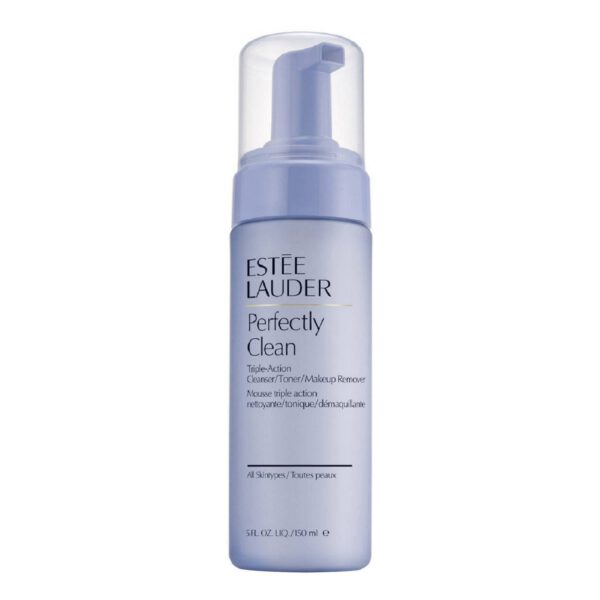ESTÉE LAUDER PERFECTLY CLEAN TRIPLE ACTION / CLEANSING / TONING / MAKE- UP REMOVER