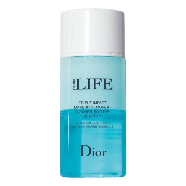 DIOR HYDRA LIFE 3 IN 1 MAKEUP REMOVER CLEANS, SOOTHES, BEAUTIFIES