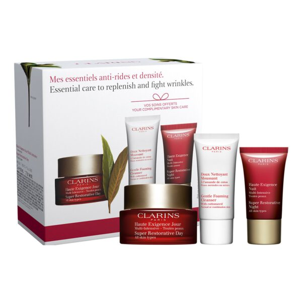 CLARINS MY ANTI-WRINKLE AND MULTI-INTENSIVE DENSITY ESSENTIALS