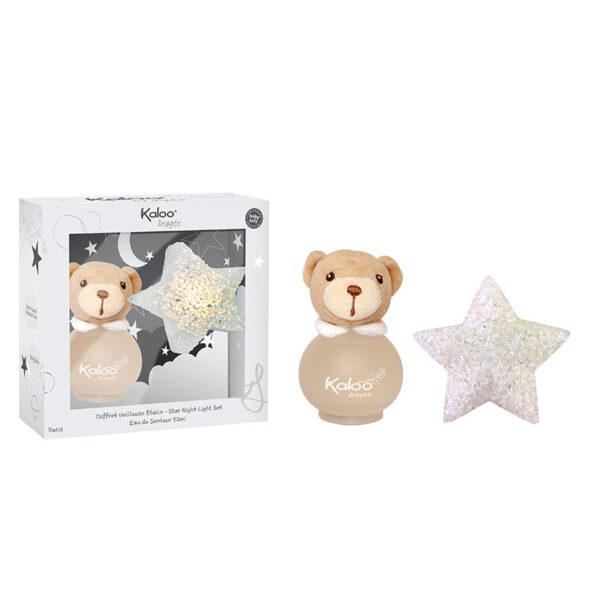 Kaloo Dragée Star Night Light & Scented Water Set 50ml